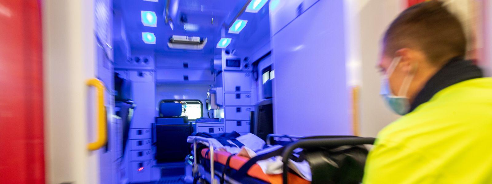"""""""Interventions secours à personne"""": Die Krankenwageneinsätze machen inzwischen 79 Prozent aller Einsätze des CGDIS aus."""
