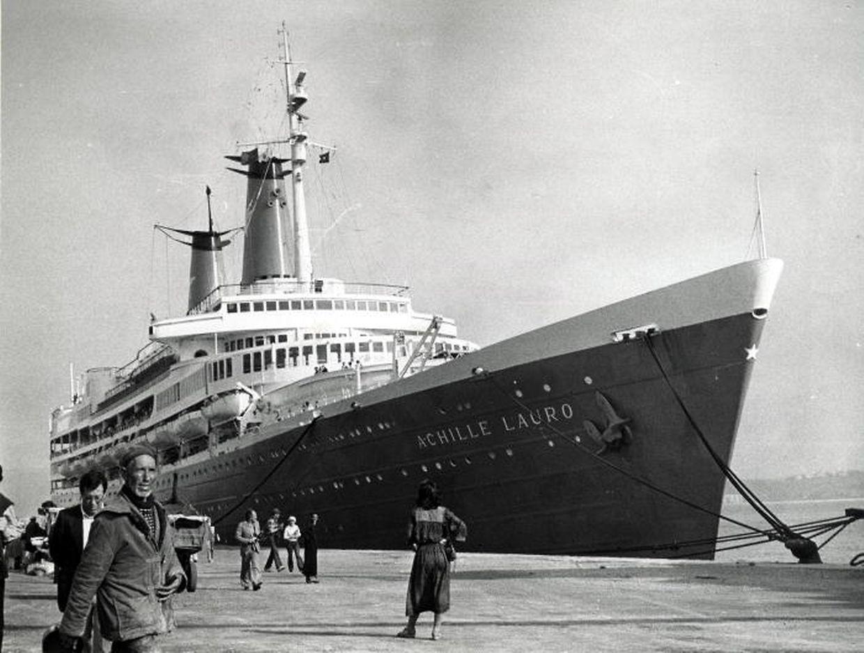 """Die erste Leserkreuzfahrt des """"Luxemburger Wort"""" führte die Mitreisenden im März 1979 auf der später entführten """"Achille Lauro"""" von Genua nach Dakar."""