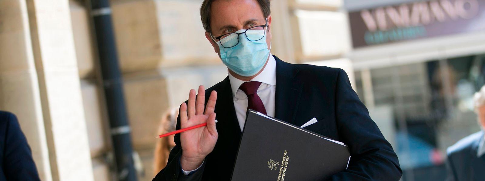 Premierminister Xavier Bettel bezog am Donnerstag vor dem Parlament Stellung zur Exitstrategie.