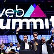 Portuguese Prime Minister António Costa (R), the mayor of Lisbon City Fernando Medina (L) and Paddy Cosgrave (C), founder of The Web Summit, during the opening ceremony of the 7th Web Summit in Lisbon, Portugal, 06 November 2017. The annual technology and internet conference attracts over 60,000 attendees from more than 100 countries, according to the organizers.  ANTÓNIO COTRIM/LUSA