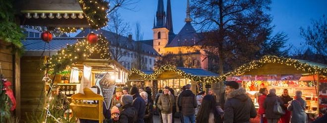 Les marchés resteront ouverts jusqu'au 24 décembre et la patinoire jusqu'au 7 janvier.