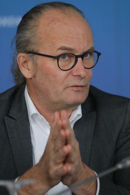 Claude Turmes, ministre de l'Energie et de l'Aménagement du territoire, prêt à jouer un rôle actif en mers du nord.