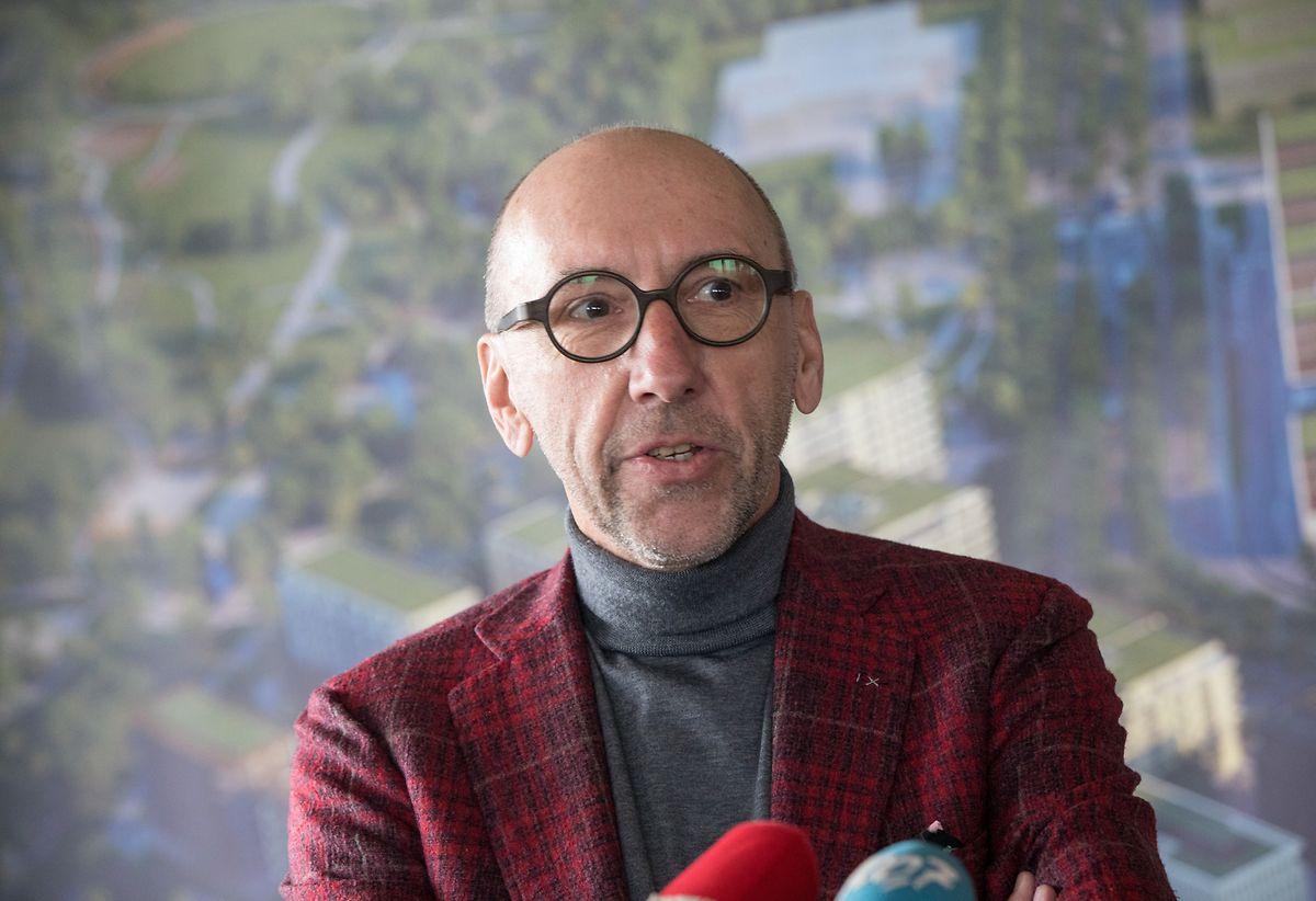 """Michel Knepper: """"In Zukunft soll das Viertel auch offiziell Cloche d'Or heißen."""""""