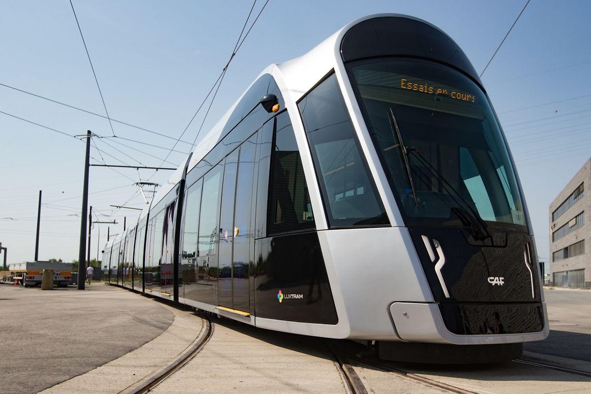 Le tram compte 32 rames