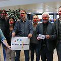 20.09.2017 Luxembourg, Gasperich, remise chèque de 568euros à l'association île aux clowns photo Sasha Hamzeh