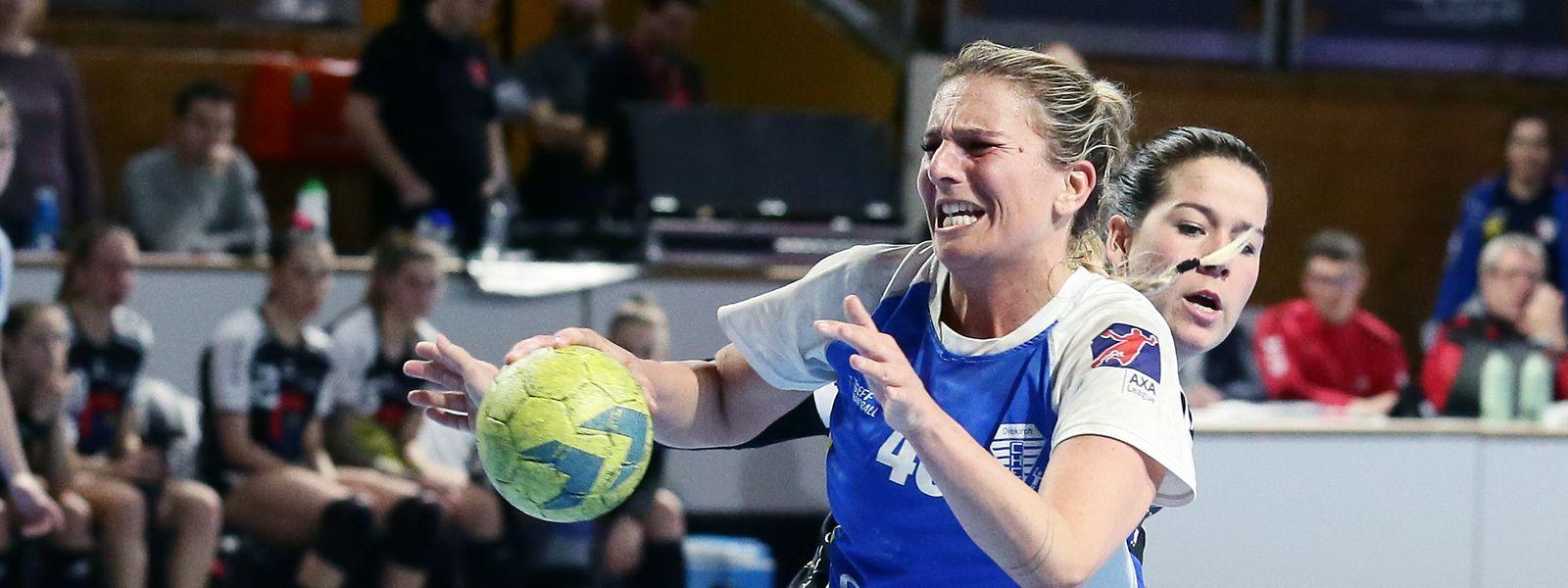 Anne Steuer und Diekirch haben sich im Halbfinalspiel gegen Esch klar mit 29:6 durchgesetzt und stehen am Sonntag im Finale gegen Düdelingen.
