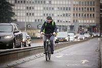 Aller au travail à vélo: comment s'habiller? - Romuald -  Photo : Pierre Matgé