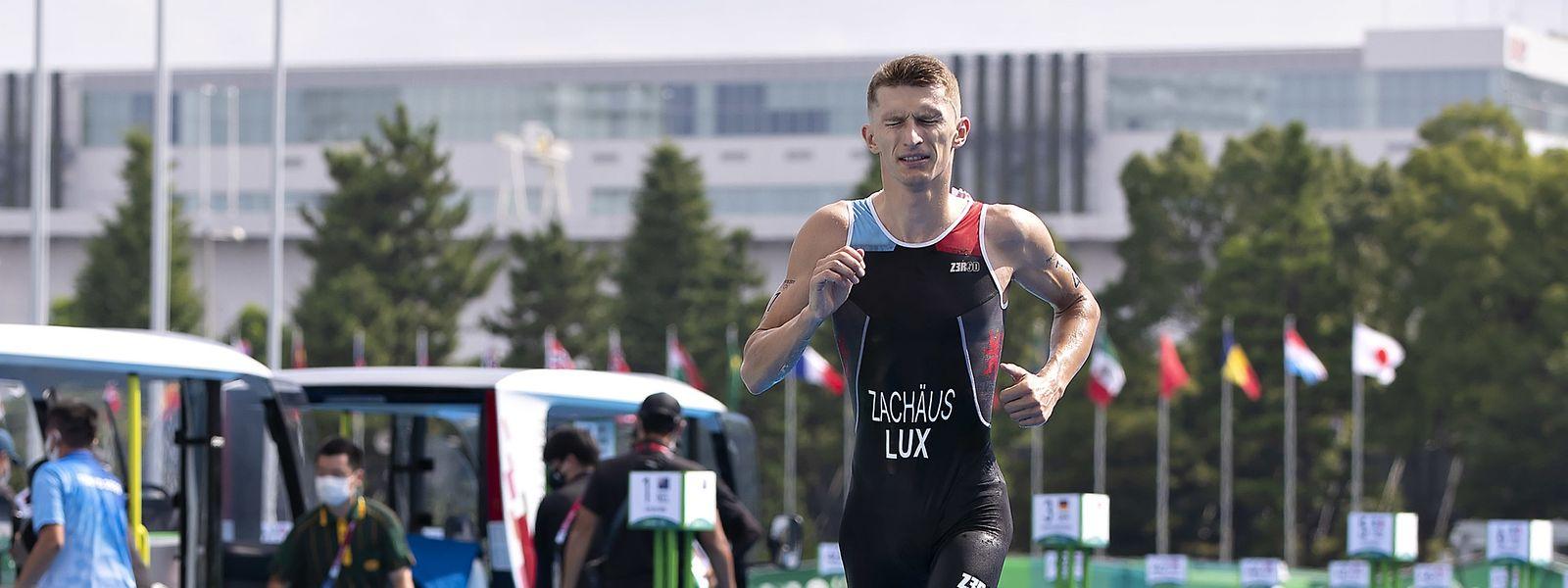 Pour Stefan Zachäus, l'épreuve de triathlon de dimanche s'est apparentée à de véritables montagnes russes. Il a franchi la ligne d'arrivée en 44e position.