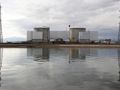France's oldest Electricite de France (EDF) nuclear power station is seen along the Rhine river in Fessenheim near Colmar, Eastern France