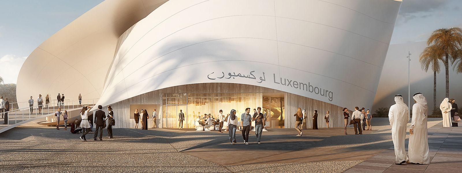 Das Luxemburger Architektenbüro Metaform hat das Gebäude entworfen.