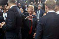 Donald Trump auf dem Nato-Gipfel in Brüssel.