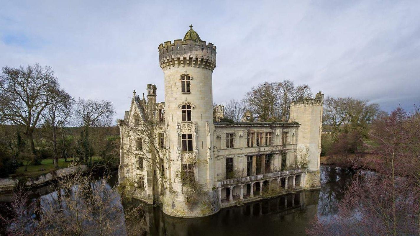 Le Chateau es en piètre état.
