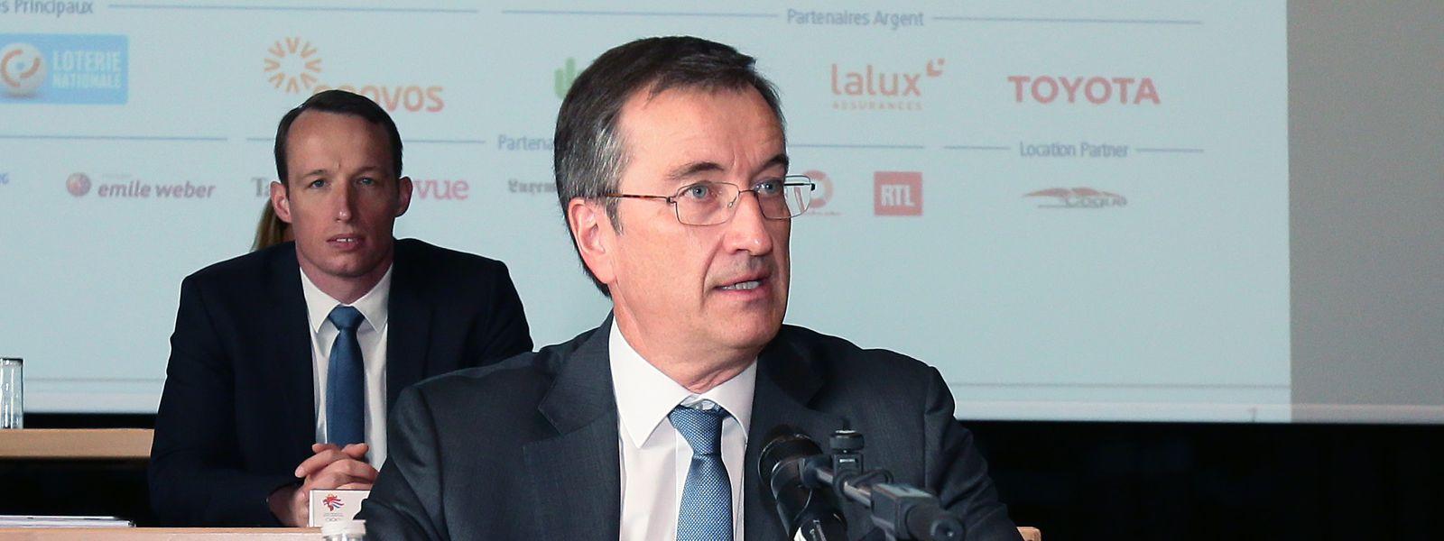 André Hoffmann espérait que le COSL joue un rôle plus actif dans le déconfinement du monde sportif.
