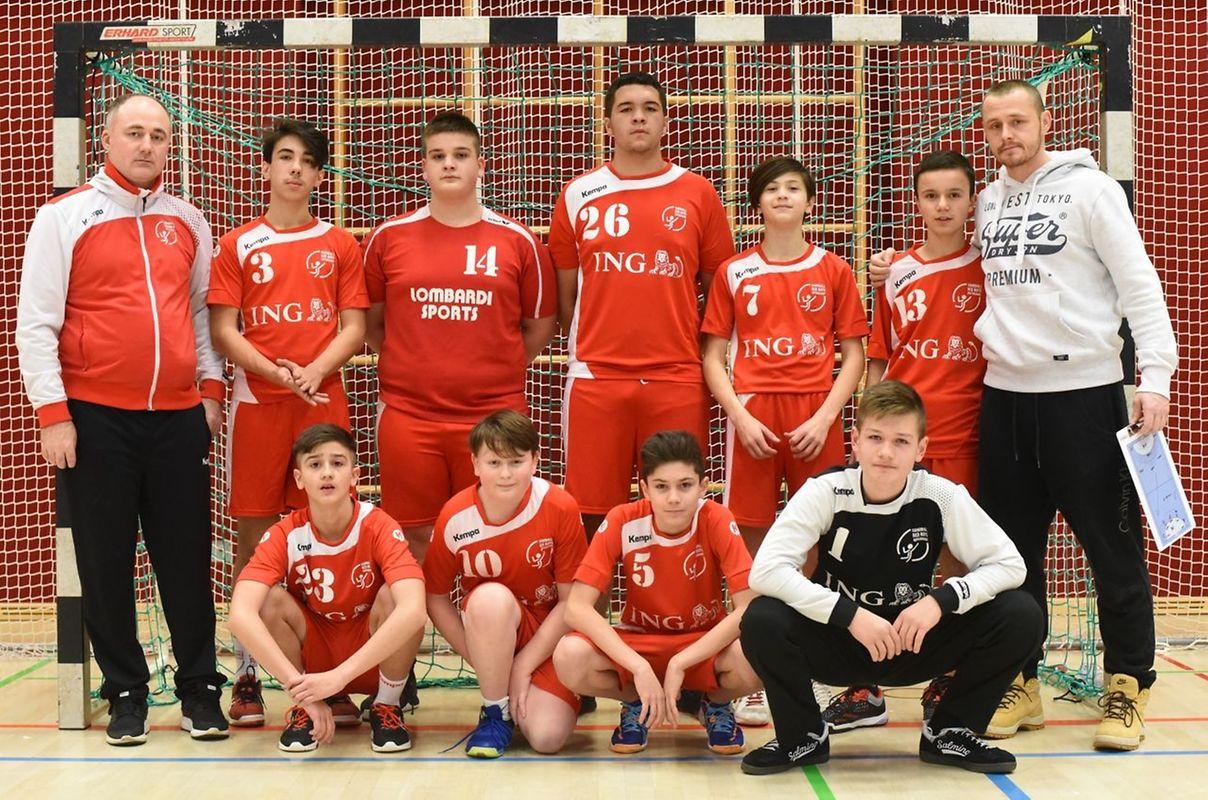 Les U15 des Red Boys Differdange.