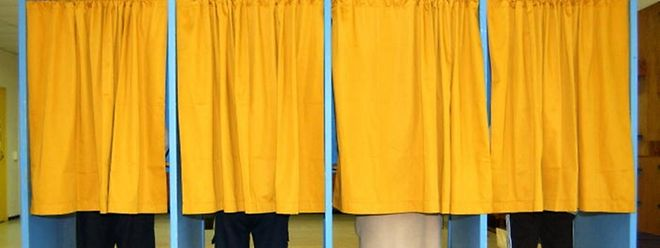 Entscheidung in der Wahlkabine.