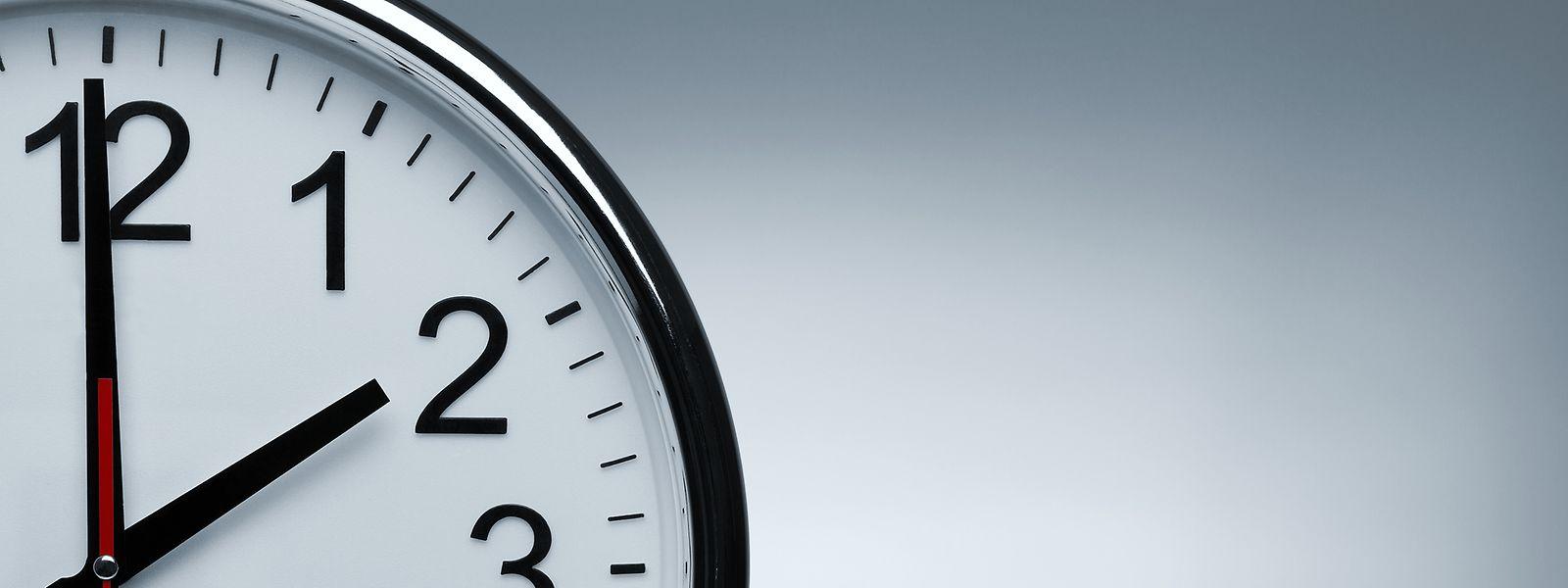 Bis zu 1.800 Stunden können auf den Arbeitszeitkonten angespart werden.
