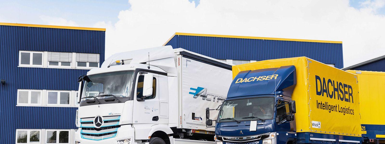 Die Logistikfirma testet neue Konzepte für eine umweltfreundlichere Auslieferung.