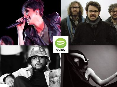 Performing in Luxembourg in December, clockwise from top left: Nena, The Notwist, Marissa Nadler and ScHoolboy Q