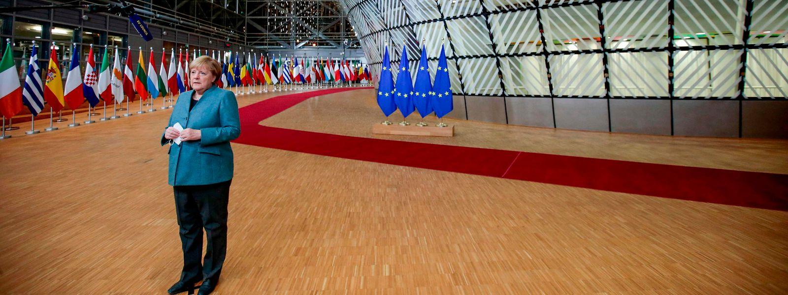 Face à la menace d'un «no deal», la chancelière allemande Angela Merkel a déclaré: «Nous avons demandé au Royaume-Uni de rester ouvert aux compromis»