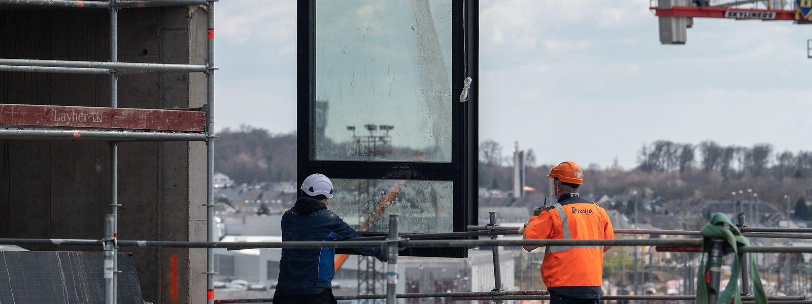 Tous les chantiers, qu'ils soient publics ou privés, sont ou vont être impactés par la pénurie de matériaux qui devrait durer encore plusieurs mois, selon la Chambre des métiers.