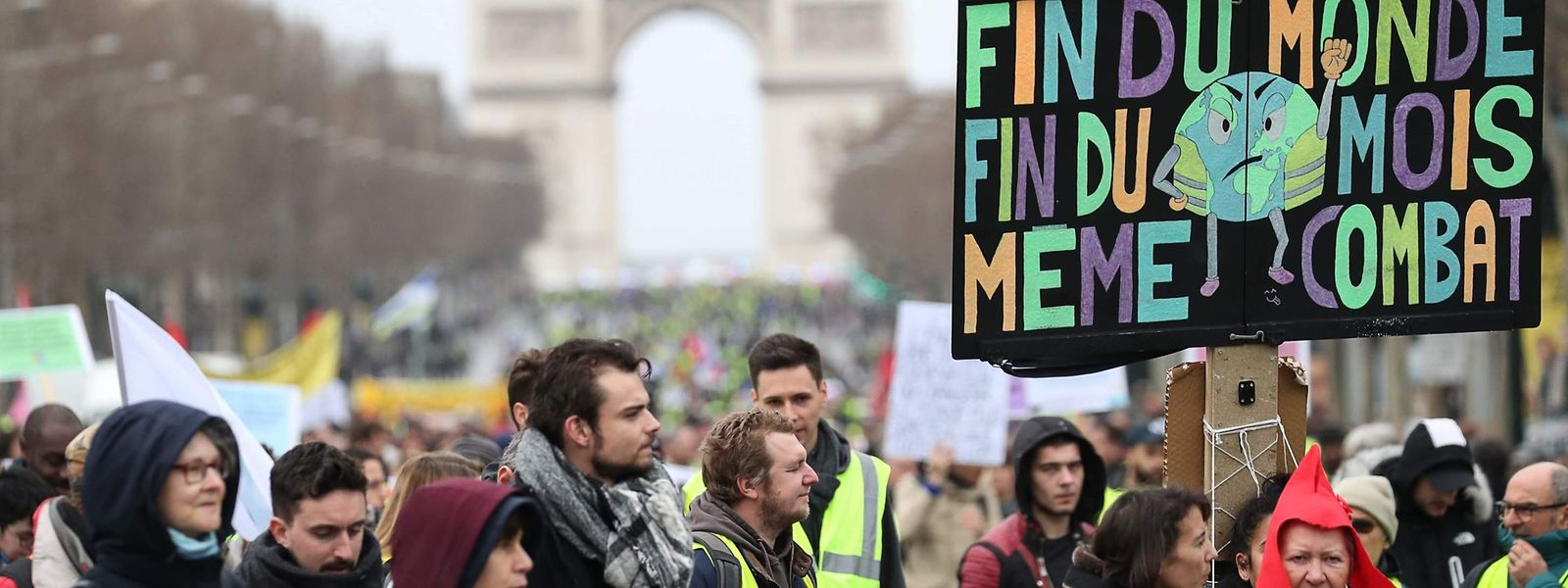Anfänglich mobilisierte die Bewegung laut Schätzungen 250.000 Menschen.
