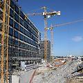 23.8.2017 Luxembourg, Gasperich,  chantier Gasperich ban, Bauarbeiten photo Anouk Antony