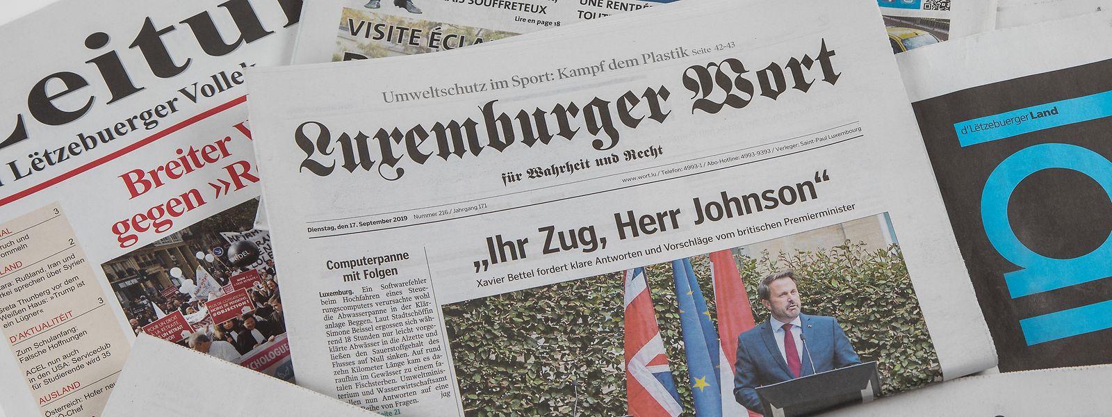 """Die Marke """"Luxemburger Wort"""" konnte ihre Reichweite erneut ausbauen."""