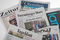 TNS MultimediaUmfrage , Medien , Zeitungen , Kiosk , Foto: Guy Jallay/Luxemburger Wort