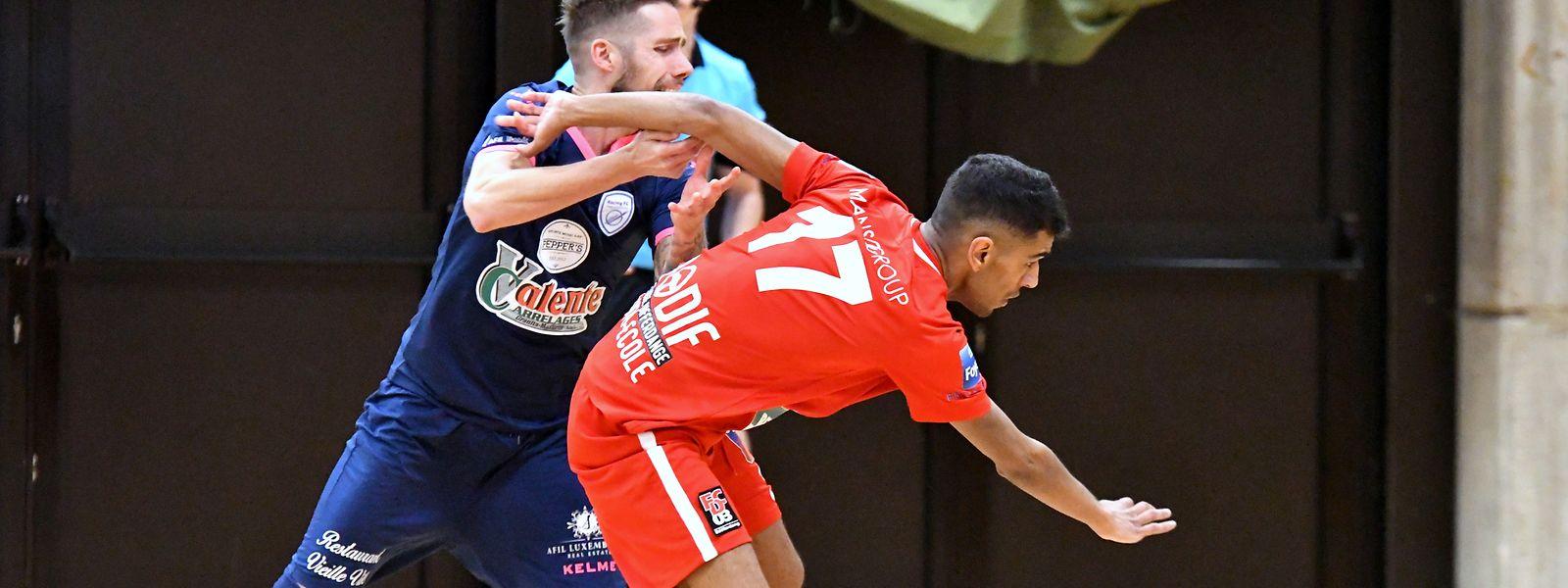 Le Differdangeois Ruben Reis a ouvert le score dans cette finale.