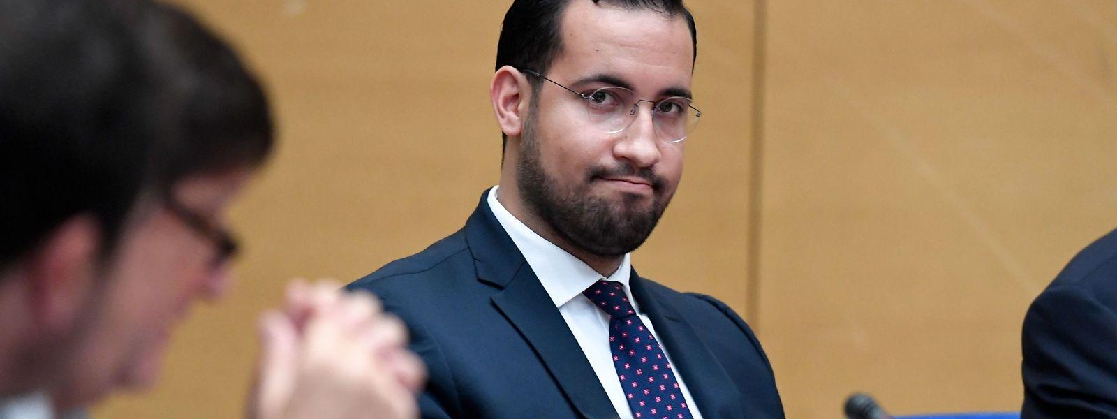 L'ancien responsable de la sécurité du président français Alexandre Benalla.