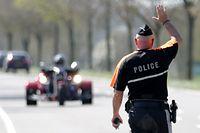 Blitzer-Marathon der Police, Polizei, Grand-Ducale, N13, Frisange, le 18 avril 2018. Photo: Chris Karaba