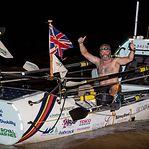 De Portimão à Guiana. Britânico amputado atravessa Atlântico em barco a remos