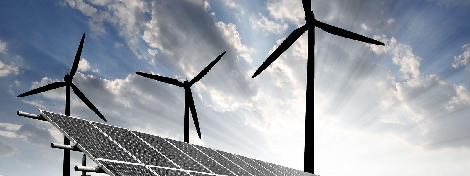 Grüne Energie ist ein zentrales Element des Rifkin-Prozesses.