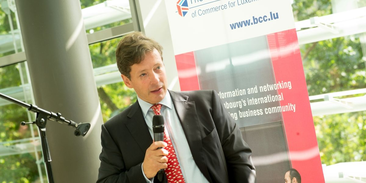 Nicholas Mackel, CEO do Luxembourg for Finance