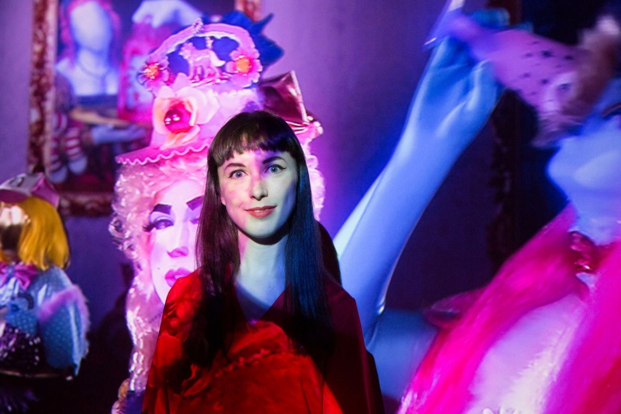 Rachel Maclean:  «Ok, You've Had Your Fun», Forum d'art contemporain Luxembourg.