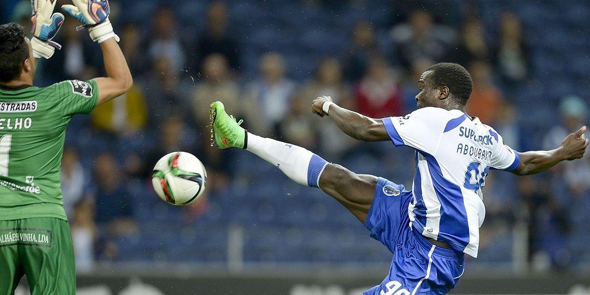 Aboubakar e o FC Porto querem continuar na senda das vitórias