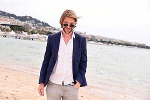 L'acteur Luc Schiltz pour la première fois au Festival de Cannes.