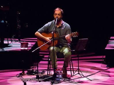 António Zambujo - Philharmonie (Festival Atlântico) / Foto: Ivo GUIMARAES