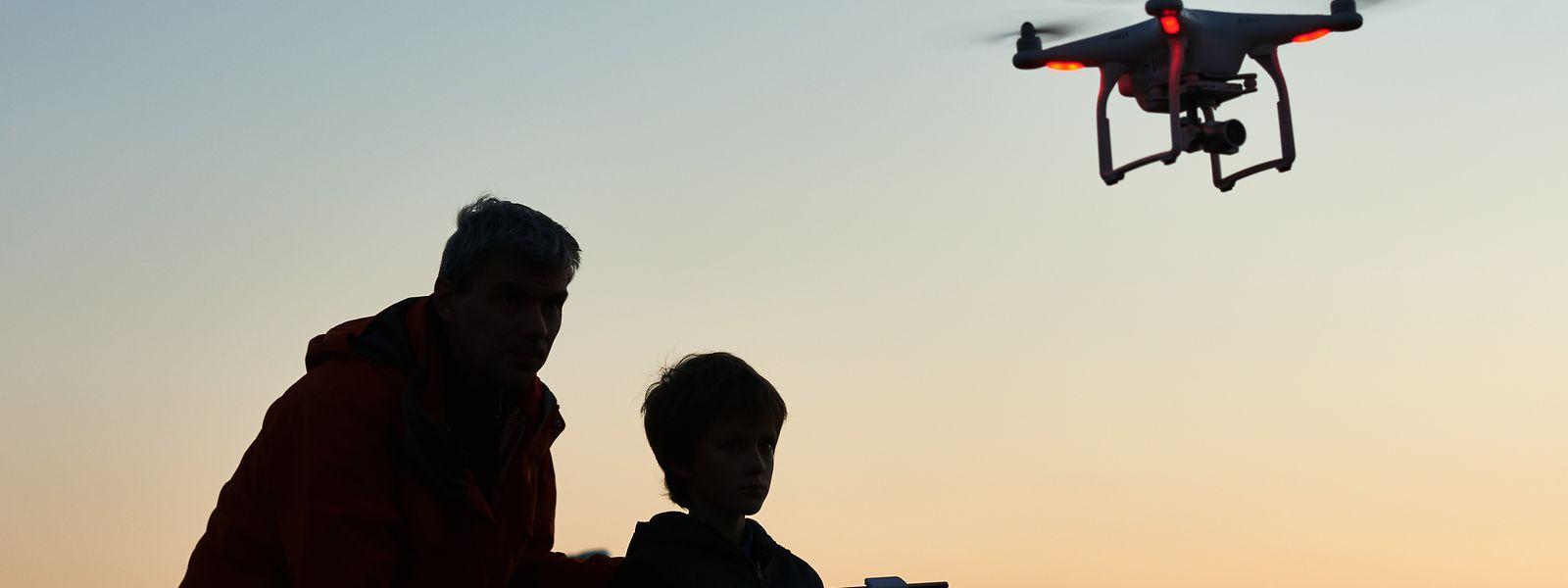 Über der Hauptstadt dürfen am Wochenende keine Drohnen fliegen.