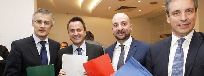 Das Koalitionsprogramm von DP, LSAP und Déi Gréng sollte eigentlich erst in der kommenden Woche publik gemacht werden.