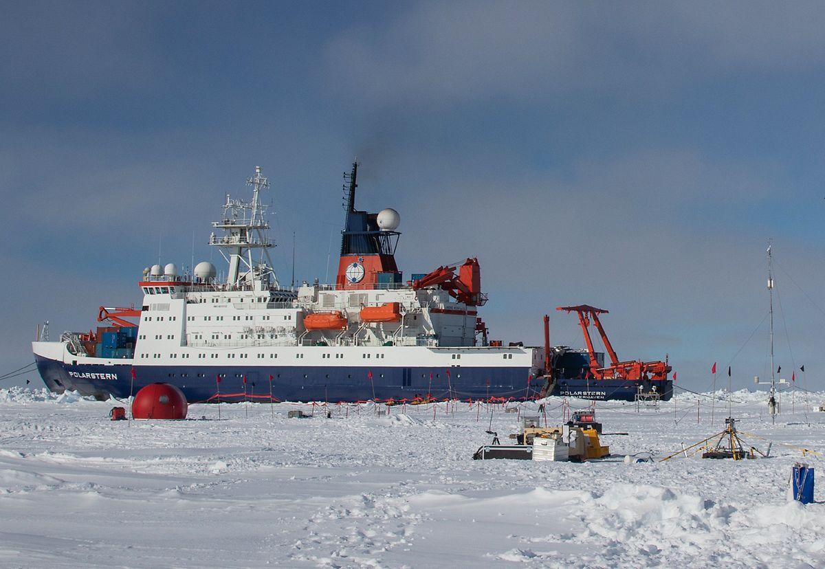 Die Forschungsschiff «Polarstern» auf einer früheren Reise in die Arktis.