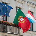 drapeaux en berne - Differdange  - 21.06.2017 © claude piscitelli