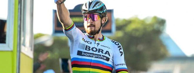 Peter Sagan a lancé sa saison de la plus belle des manières en s'imposant devant les sprinters.