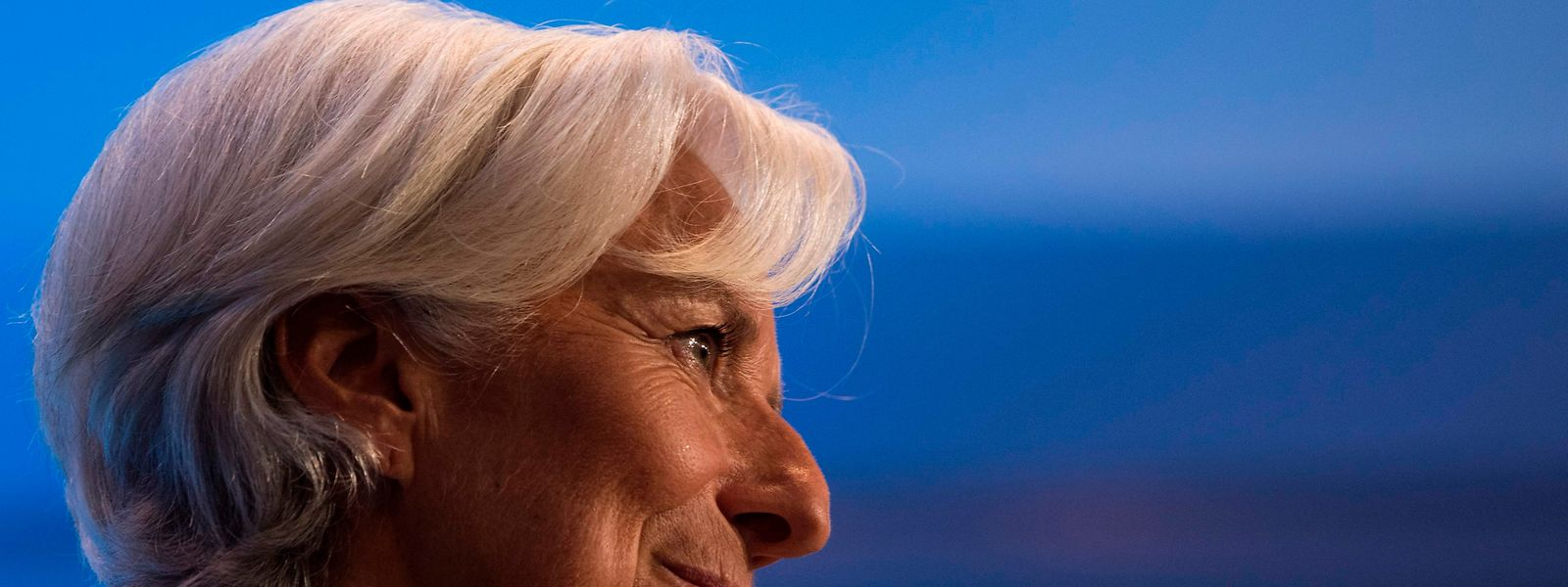 Christine Lagarde, managing director of the International Monetary Fund (IMF), speaks during the 2018 Michel Camdessus Central Bankin Lecture at the IMF headquarters  in Washington, DC on September 6, 2018. (Photo by ANDREW CABALLERO-REYNOLDS / AFP)
