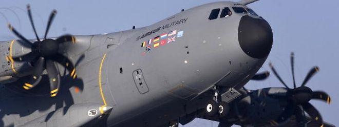 Den wird er einmal fliegen, den europäischen Militärtransporter A400M.