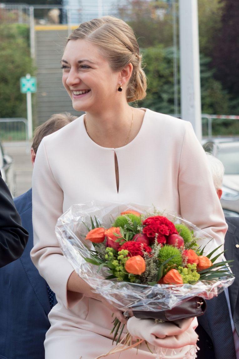 Prominente Besucherin: Erbgroßherzogin Stéphanie