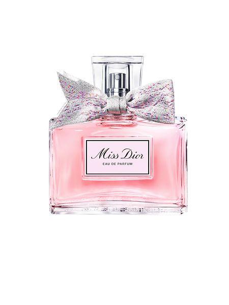 """Basiert auf dem gleichnamigen Duftklassiker aus dem Jahr 1947: das Eau de Parfum """"Miss Dior"""" – eine florale Mixtur aus Rose, Pfingstrose und Iris."""