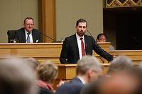 Politik, Budget Rapporteur Yves CRUCHTEN, LSAP,   Foto: Anouk Antony/Luxemburger Wort
