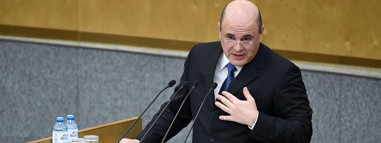 Michail Mischustin beerbt Dmitri Medwedew als Premierminister von Russland.