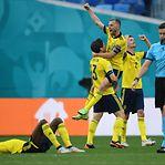 Suécia vence Eslováquia e aproxima-se dos 'oitavos'